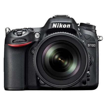 Nikon/尼康D7100套机(18-140mm)镜头 专业数码单反相机 花呗分期