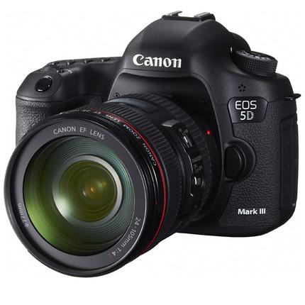 佳能5D3 佳能 EOS 5D MARKⅢ单机 24-105套机全画幅数码单反相机